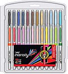 BIC Intensity Fashion Permanent Markers, Fine Point, Assorted Colors, 24-Count $4 (Add-on item)