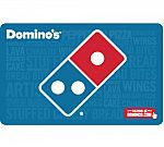 $15 Domino's Pizza Gift Card $10 + Email Delivery