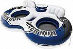 Intex River Run II 2-Person Water Tube Float w/ Cooler and Connectors $27 and more