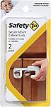 Safety 1st Secure Mount Cabinet Lock, 2 Count $0.75