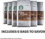 6-Pack Starbucks Pike Place Roast Medium Roast Ground Coffee 120z $13.84