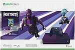 Xbox One S 1TB Console – Fortnite Battle Royale Special Edition Bundle $249
