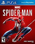 Sony Marvel's Spider-Man (PS4) $19.99 (50% off)