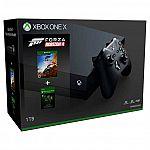 Xbox One X 1TB + Forza Horizon 4 Bundle w/ 3 Month Xbox Game Pass $340