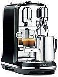 Breville Nespresso Creatista Single Serve Espresso Machine w/ Milk Auto Steam Wand $228 (54% Off)