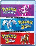 Pokemon: Movies 1-3 Collection [Blu-ray] $8.99