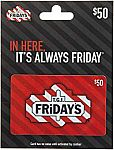 $50 TGI Friday's Gift Card $40 and more