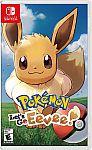 Pokemon: Let's Go, Eevee! (Nintendo Switch) $40 (Org $60)