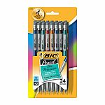 BIC Xtra Precision 0.5 mm Mechanical Pencils, 24-Pk $0.99 & More + Free Shipping