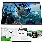 "Xbox One S 1TB All-Digital Edition Gaming Console + HP N270h 27"" HD Monitor $289.99"