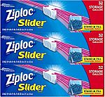 96-Ct Ziploc Gallon Slider Storage Bags + 20-Ct Ziploc Brand NFL Gallon Size Slider Bags $9.79 or Less