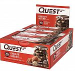 12-count Quest Chocolate Hazelnut Protein Bar $15.59