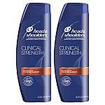 2-Pack 13.5oz Head & Shoulders Anti Dandruff Clinical Strength Shampoo $6.58 or Less