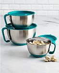 Goodful 6-Pc. Stainless Steel Bowls Set $10 (Org $72) & More