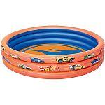 Hot Wheels 3-Ring Inflatable Kiddie Pool $7