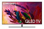 "Samsung 75"" QN75Q7FN QLED Smart TV + Wall Mount $1483"