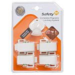 Safety 1st Magnetic Cabinet Locks, 4 Locks + 1 Key $5.28