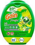 96-Count Gain Flings! Laundry Detergent Pacs $16 or Less