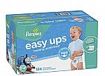 248-Ct Pampers Easy Ups Training Pants Diapers for Boys, 3T-4T $75.64 + $20 Amazon GC