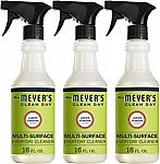 3-Pack Mrs. Meyers Clean Day Multi-Surface (16 fl oz) Everyday Cleaner $7.89