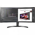 "LG WL85C 34"" IPS Curved WQHD HDR 10 Monitor $499"