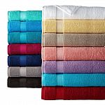 JCPenney Home Performance OEKO-TEX Cotton Bath Towel $3.50 w/pickup