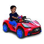 Spiderman-marvel 6 Volt Spider-man Super Car for Kids $88