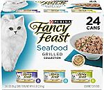24-Pack Purina Fancy Feast Gravy Wet Cat Food Variety Pack $8.18