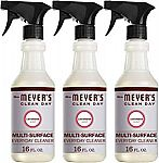 3-Pack of 16-oz Mrs. Meyer's Clean Day Multi-Surface Everyday Cleaner (Lavender) $8 or Less