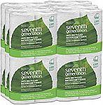 48 Count Seventh Generation Bathroom Tissue $16.75