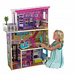 KidKraft Super Model Dollhouse with 11 accessories $50
