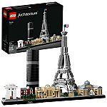 LEGO Architecture Skyline Collection Paris 21044 Building Set $40 (org $50) & More