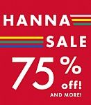 Hanna Andersson - Up to 75% Off Sale + Free Shipping on $49 Orders