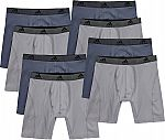 adidas Men's Performance Climalite Boxer Briefs 8 for $30 ($3.75 each)