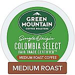 72-Count Green Mountain Coffee K-Cups $20.86