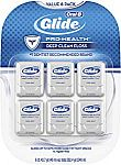 6-Pack Glide Oral-B Pro-Health Deep Clean Floss, Mint $5.48