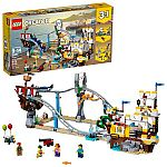 LEGO Creator 3in1 Pirate Roller Coaster 31084 $58 (Org $90) + Free Shipping