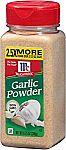 McCormick Garlic Powder, 8.75 oz $2.58 or Less