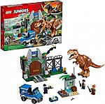 LEGO Juniors Jurassic World T. Rex Breakout 10758 (150 Pieces) $33 (Reg.$50)