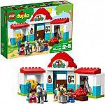 LEGO DUPLO Town Farm Pony Stable 10868 Building Blocks (59 Piece) $18 (Reg. $30) & More