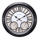 AcuRite Round Indoor/Outdoor Clocks $13 (YMMV)