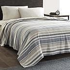 Eddie Bauer 100% Cotton Herringbone Blanket: Twin $25.49, Full/Queen $31.86, King $35.70 & More