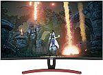 "Acer ED323QUR Abidpx 31.5"" WQHD (2560 x 1440) Curved 1800R VA Gaming Monitor $289"