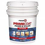 Zinsser PrimeCoat 5 gal. White Water-Based Interior Multi-Purpose Primer & Sealer $41 (40% Off)