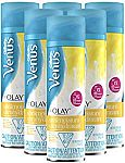 6-pack Gillette Venus with Olay UltraMoisture Vanilla Cashmere Shave Gel 6oz $5.16