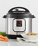 6-Qt Instant Pot DUO60 7-in-1 Programmable Pressure Cooker $49.99 + Free Shipping