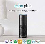 Certified Refurbished Echo Plus (1st Gen) with built-in Hub $59.99