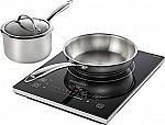 Insignia 4-Piece Induction Cooktop Set $60 (Org $100)