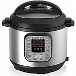 Kohls Cardholders: 8-Qt Instant Pot Duo Pressure Cooker + $10 Kohls Cash $63 and more