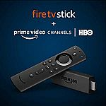 Fire TV Stick with Alexa Voice Remote plus 2 months of HBO $39.99 (Prime members only)